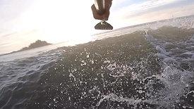 Xmas SUP surf Marazion