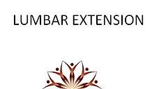 Lumbar Extension