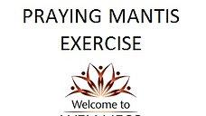 Praying Mantis Exercise