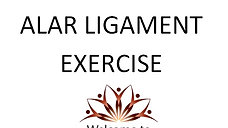 Alar Ligament Exercise