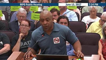 Kurt Young Metropolitan Planning Organization Public Hearing 2017