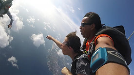 Sky Diving in Mexico