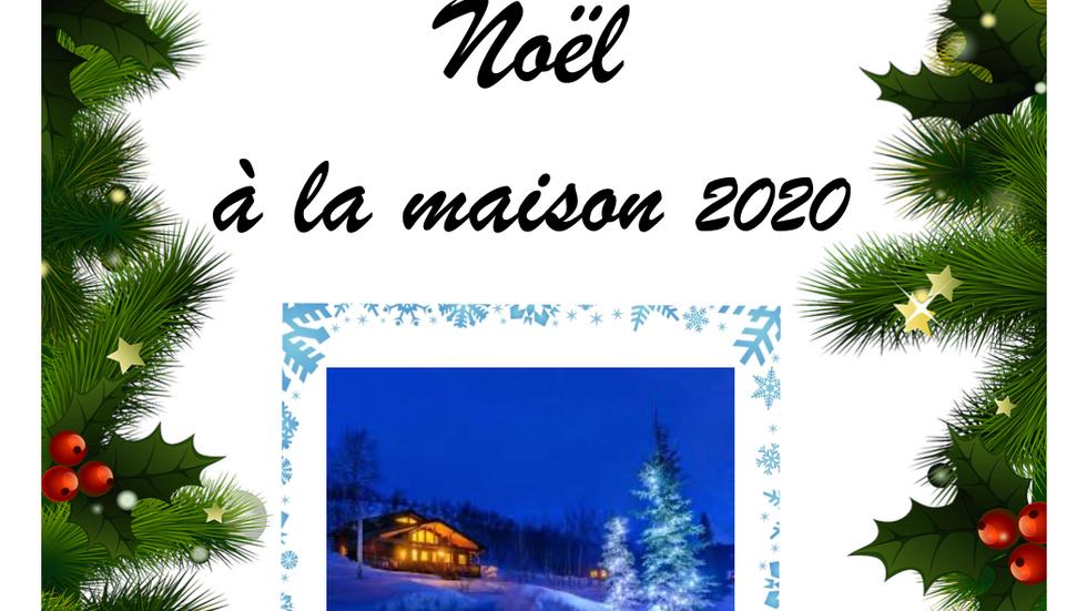 NOEL A LA MAISON 2020