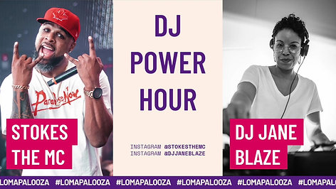 LOMPALOOZA - StokeS the MC - DJ Power Hour Part I