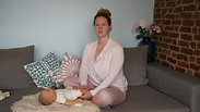 Einblick Babymassage