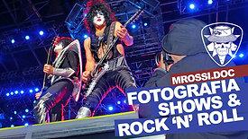 Teaser do filme MRossi.DOC: sobre fotografia, shows e rock 'n' roll