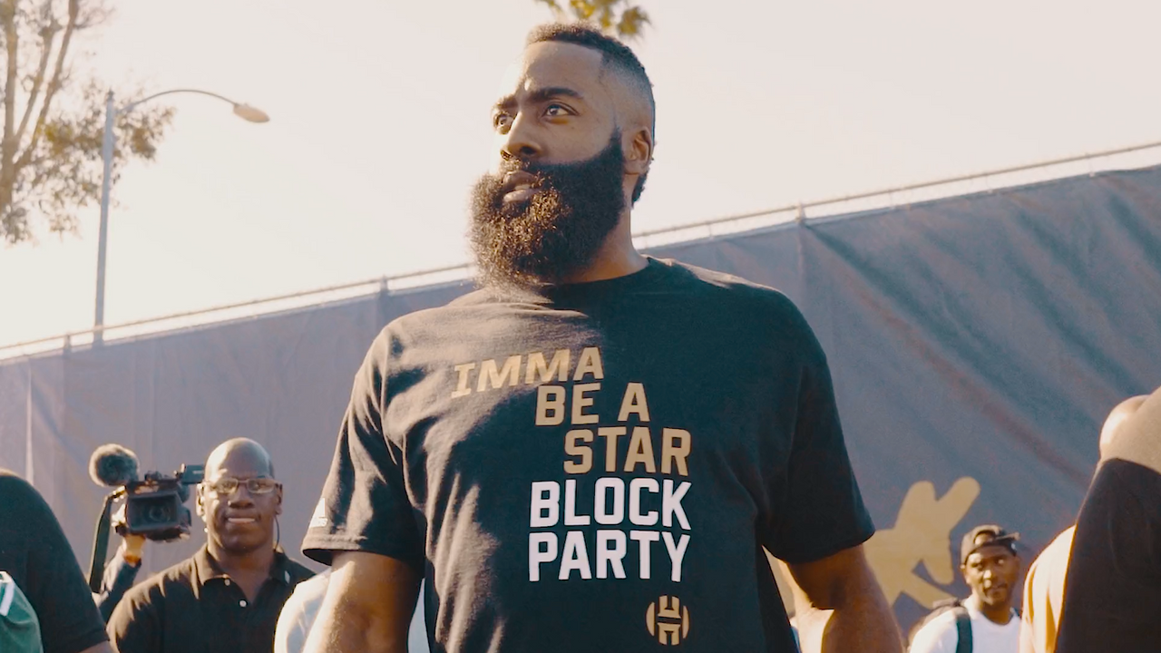 James Harden Imma Be a Star Block Party