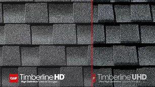 GAF® Timberline UHD Ultra High Definition Lifetime Shingles with Dual Shadow