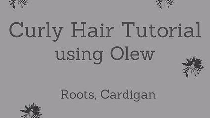 Curly Hair Tutorial