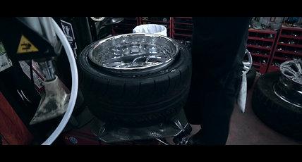 R/T Tires x Sean's SSR Varden Sport Schwarz