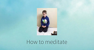 What is meditation by Zen kids