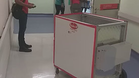 Smart Robot in action at private Hospital Sg Buloh