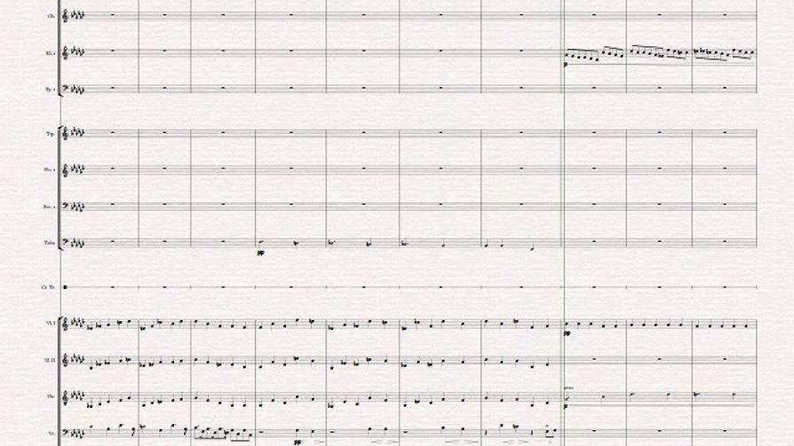 op 551 Passacaglia es-moll für Orchester Bernd Philippsen 2015