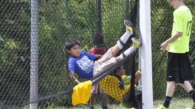 Vickery Summer Soccer Volunteers