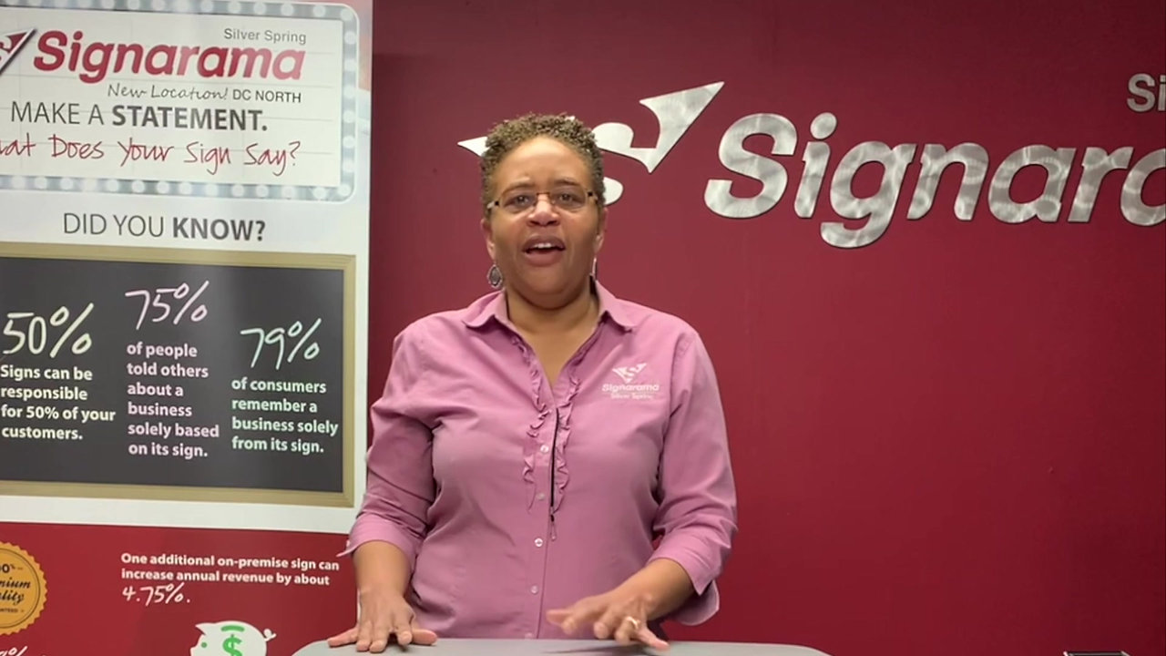 Testimonial |  Stacey Brown, Owner of Signarama Silver Spring & DC