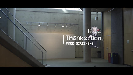 Thanks, Don screening - 3D posters