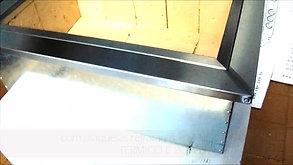 apresentando a caixa braseiro de embutir