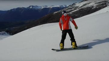 Abriendo pistas | Bajamos con nuestros amigos de Fire On Ice
