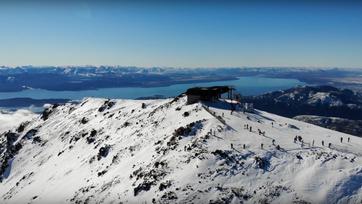 Qué paso ayer | Cerro Catedral se vistió de blanco