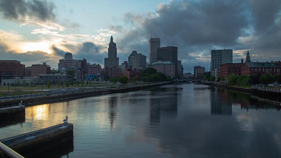 Providence Skyline Hyperlapse