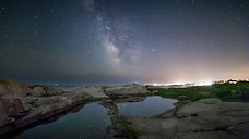 Milky Way Over Narragansett