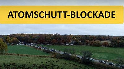 Atomschutt-Blockade, Harrislee, 31.10.2020