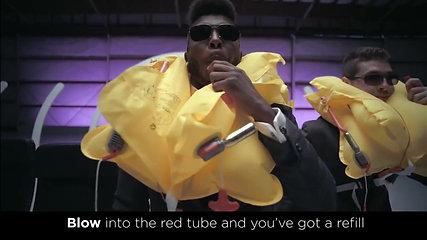 Fun - Virgin America Safety Video #VXsafetydance