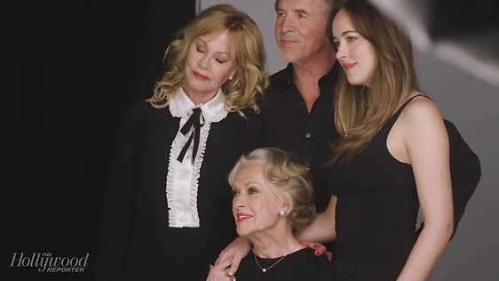 Tippi Hedren, Melanie Griffith, Don & Dakota Johnson_ A Dynasty of Actors _ THR