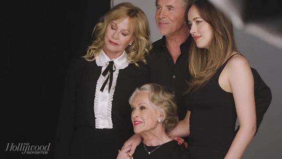 Tippi Hedren, Melanie Griffith, Don & Dakota Johnson_ A Dynasty of Actors _ THR