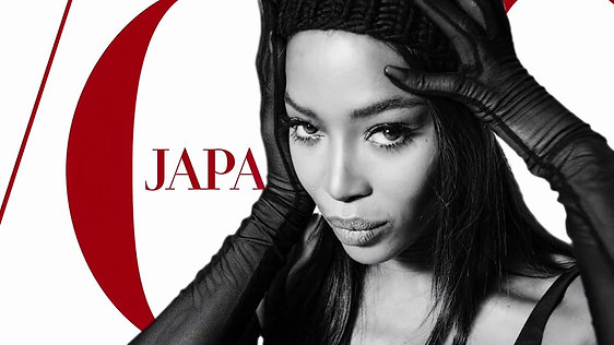 Vogue Japan - Naomi Campbell