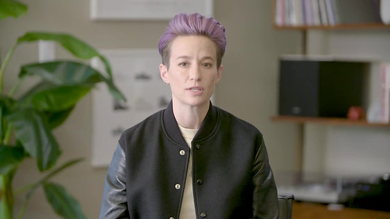 At Home With Megan Rapinoe