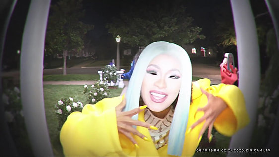 Cardi B's Epic Doorbell Video For Reebok's #ZigTheRunway
