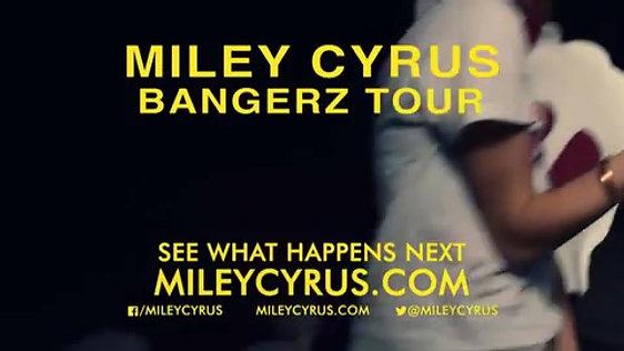 Miley Cyrus Bangers Tour Promo