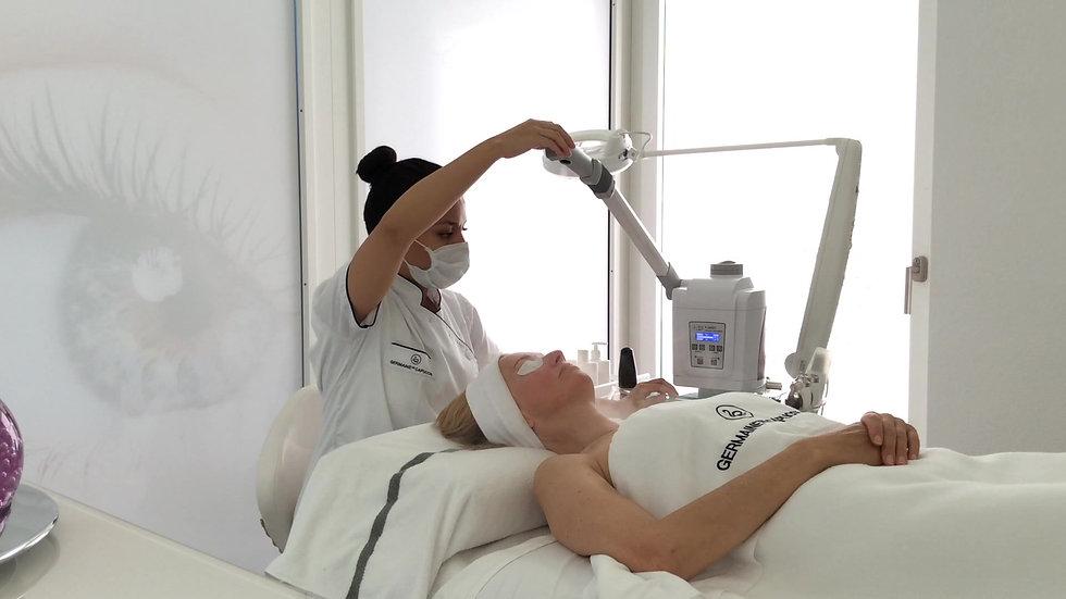Gesichtsbehandlung bei DERMOSPA