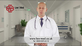 Law Med Medical Solicitor Advert