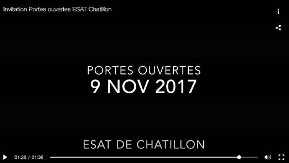 Les actualités de l'ESAT Chatillon
