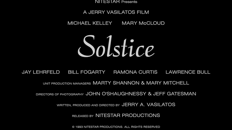 """Solstice"" 25th Anniversary Trailer"