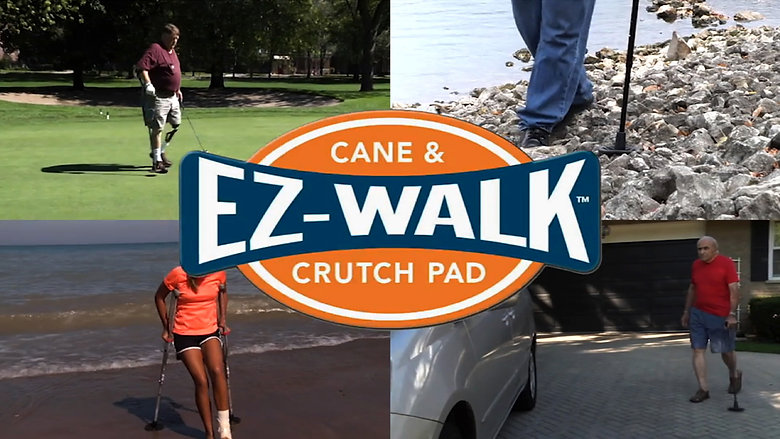 The SandPad / EZ-Walk Cane and Crutch Pad