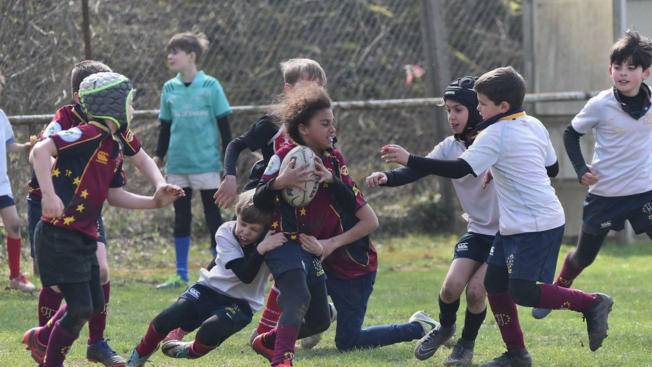 Rugby - not just for boys