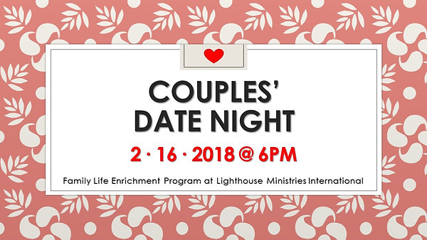 FLEM Couples Night 2162018 - promo vid