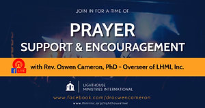 Prayer Support and Encouragement with Dr Oswen Cameron