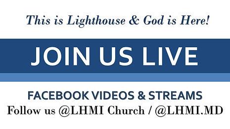 Watch LHMI on Facebook