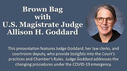 Brown Bag with Magistrate Judge Allison Goddard