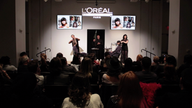 Yves Durif and L'Oreal Event