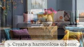 5 steps to create a decor scheme