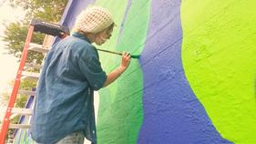 Rebecca Graves - Avenue A Mural