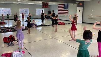 "Monday - 1st Grade Ballet - ""The Glow"""