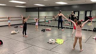 """Monday - Kindergarten Ballet - """"Minnie's Bowtique"""""""