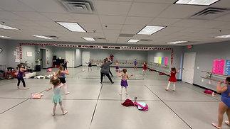 "Tuesday - K-1st Grade Ballet - ""Minnie's Bowtique"""