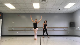 Int/Adv Ballet | Center II